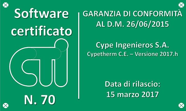 certificato c.e. bollino di conformità