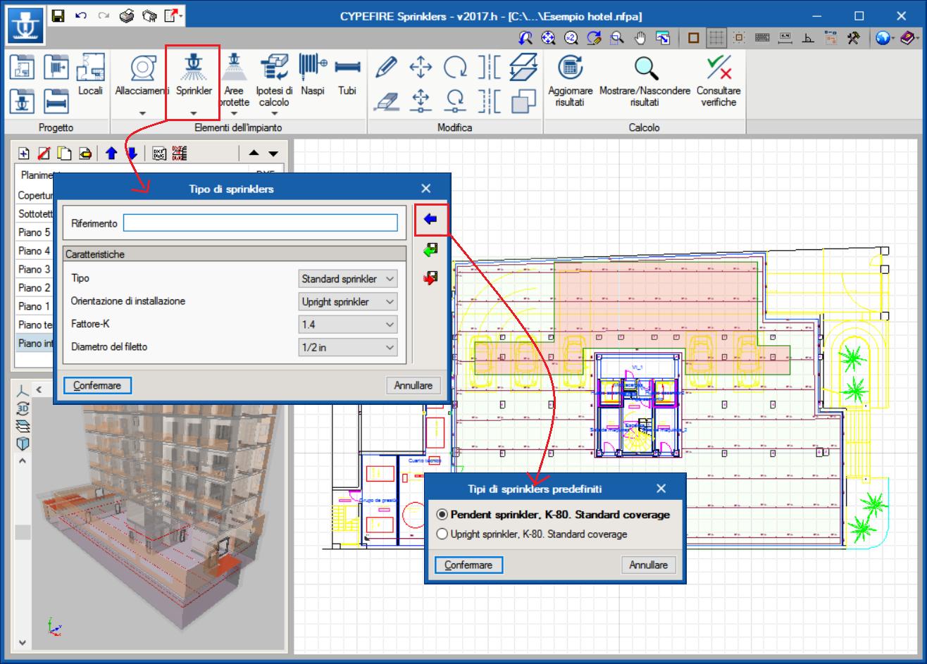 Impianti Antincendio Fire Software Progettazione